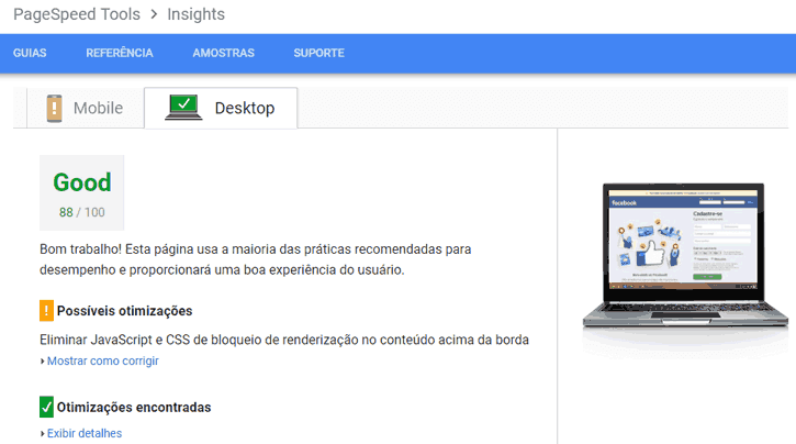 pagespeed joomla
